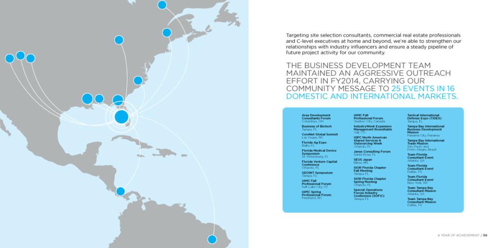 Tampa Hillsborough Economic Development Corporation Annual Report 30