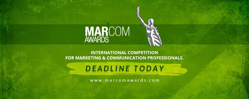 MarCom Awards Deadline Today
