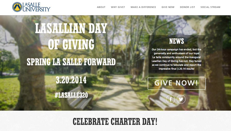Lasallian Day of Giving