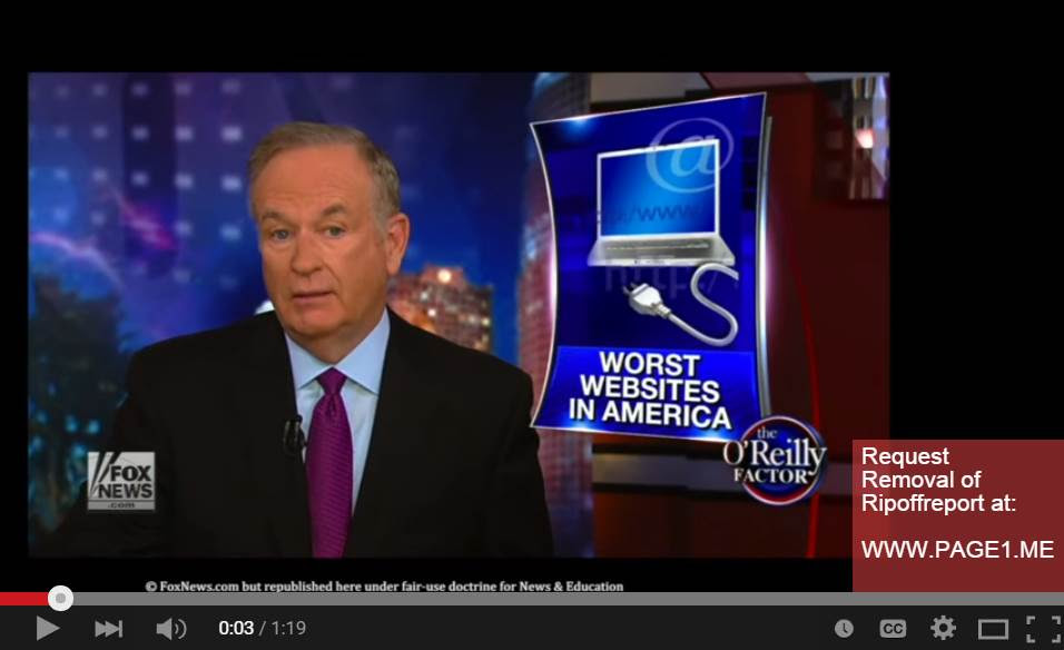 Ripoff Report Bill O'Reilly