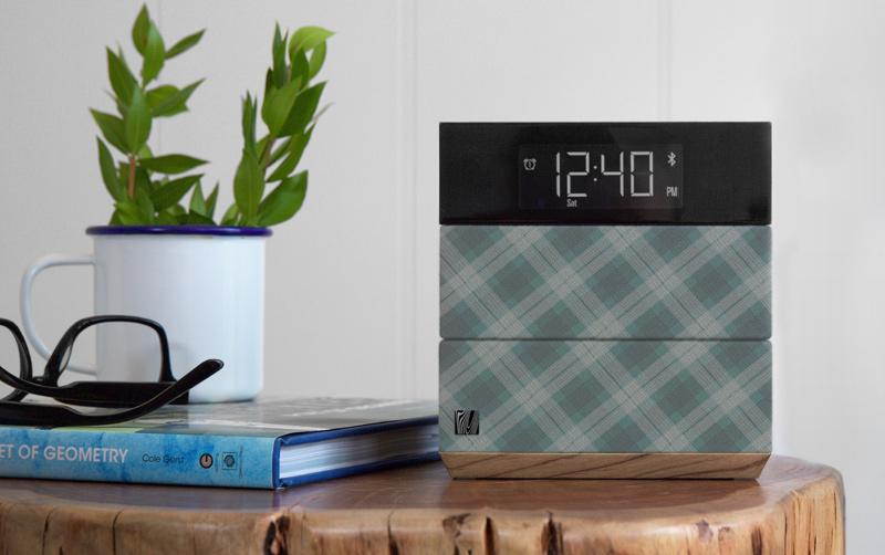 Sound Rise wireless speaker alarm clock