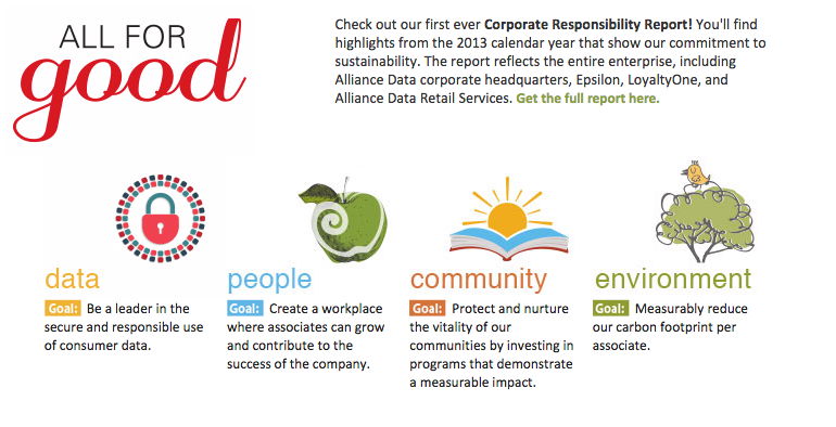 Alliance Data CSR