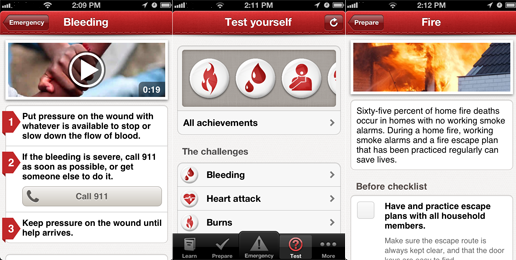 american red cross first aid app