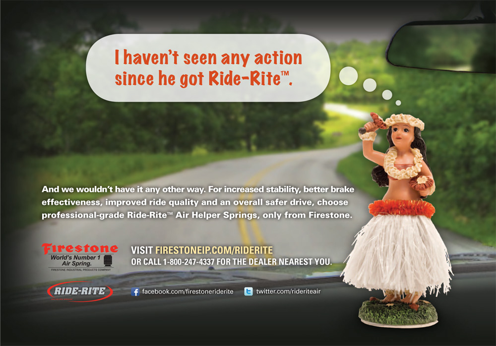 CBD Marketing - Firestone Hula Ad