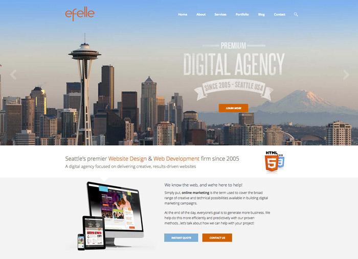 efelle creative website