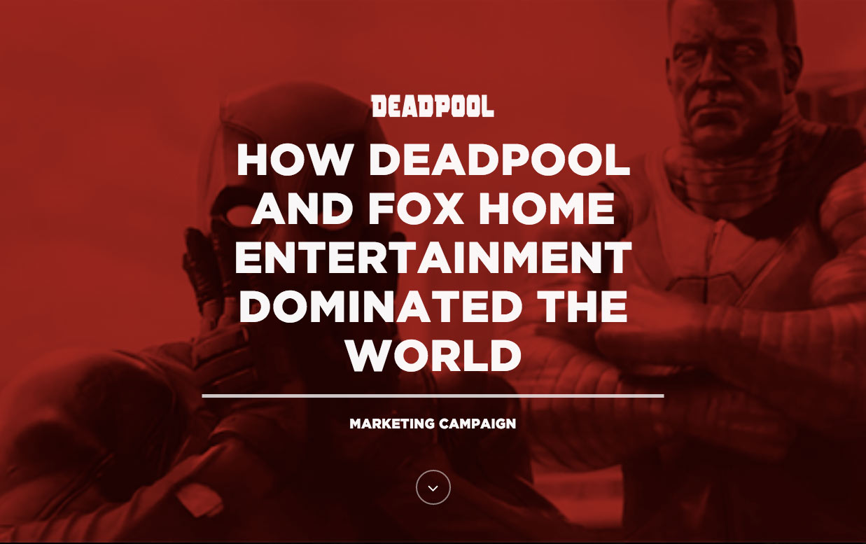fox-home-entertainment-deadpool-social-media-marketing