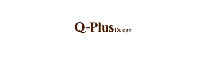 q plus design header