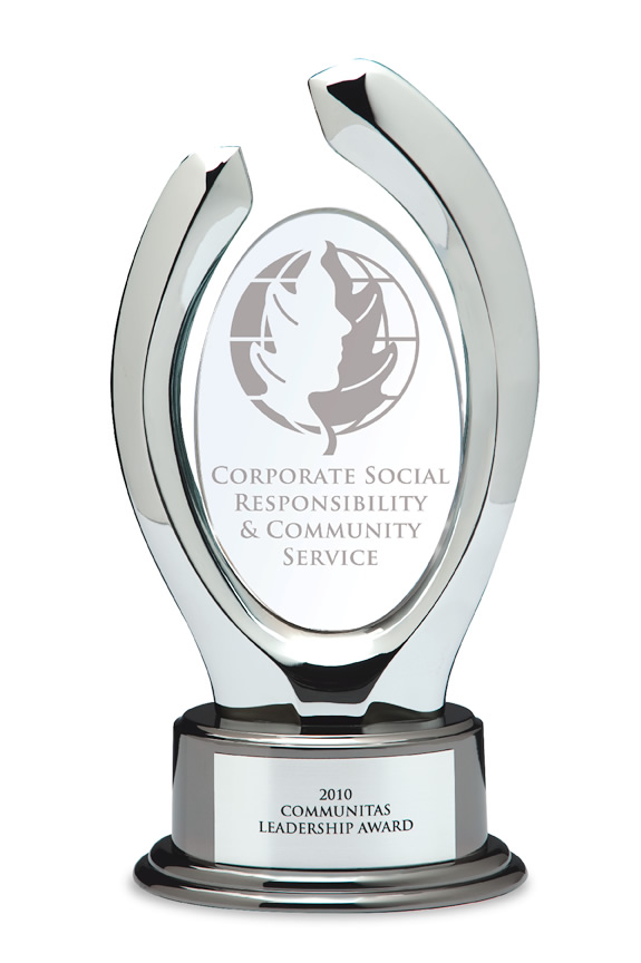 We are proud to salute 2010 Communitas Award Winner Blue Cross Blue Shield